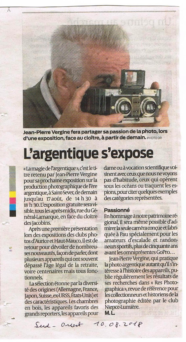 sud ouest 10 08 18 expo